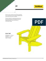 Adirondack Chair Hack
