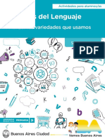 Pdp Practicas Del Lenguaje Analizar Las Variedades Alumnos 6