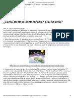 ¿Cómo Afecta La Contaminación a La Biosfera_ _ BIOSFERA