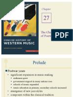 Notes on Postwar music