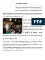 3. Análisis de Las Cinco Fuerzas de Porter Para Starbucks