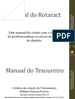 Kit Do Rotaract - Tesouraria