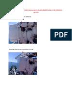 procedure for changing motor in marine radar