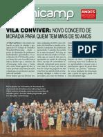 Vila Conviver, Unicamp