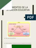 Elementos de la situación educativa DIDÁCTICA GENERAL.pptx