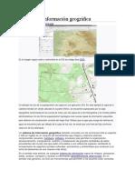 Sistema Geografico y Numerico