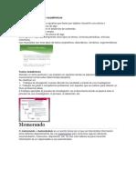Textos Informativos y Académicos