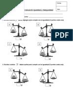 Evaluación Igualdad y Desigualdad