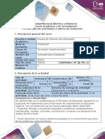 GUIA DE ACTIVIDADES COMPETENCIAS CIUDADANAS