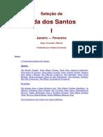 Vida Dos Santos - Janeiro a Dezembro