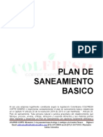 Plan de Saneamiento Basico Colfresh Coffee
