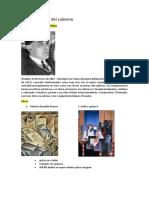 Autores y Obras Del Cubismo