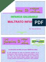 INFANCIA SALUDABLE, DERECHOS DEL NIÑO, VIOLENCIA INFANTIL Y SALUD ORAL9