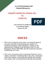 SMART vs Aldecoa