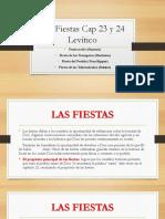 Presentación sobre las Fiestas Típicas de Levítico
