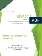 La Escuela Clásica, Adam Smith UFJF 2019