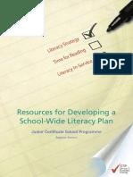 Jcsp Literacy-plan Final Colour