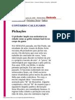 Pichacao-Folha de S