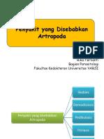 Penyakit yang Disebabkan Artropoda 2018.pptx