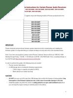Firmware Update Instructions 2019 Deh-mvh Fw Ver.8.17