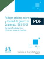 CDH 2009 2010 04 Politicas y Genero