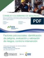 identificación de peligros riesgo psicosocial
