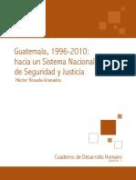 CDH 2009 2010 01 Seguridad y Justicia