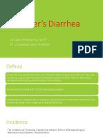 Traveler's Diarrhea - Ppt