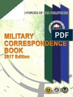 Miltary Correspondence 2017