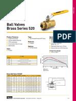 Series 520 Ball Valves U.L. Listed