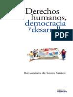 Boaventura. DDHH, Democracia y Desarrollo