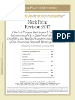 Neck pain revision 2017