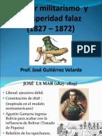 1er Militarismo y República Aristocrática