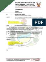 Informe Nº Requerimiento Topografo