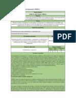 Ficha de Manejo Ambiental Componente
