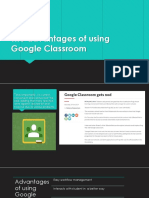 The Advantages of Using Google Classroom