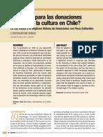 ¿Requiem Para Las Donaciones Privadas en Chile?