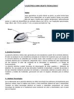 La Plancha Eléctrica Como Objeto Tecnológico