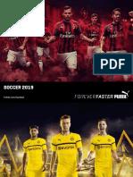 Puma 2019 Team Soccer Catalog