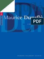Durufle Maurice