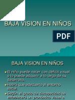 BAJA VISION EN NIÑOS.ppt