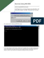 Lab01-DOSexercise
