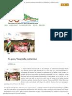 ¡Sí, Pues, Yanacocha Contamina! _ Observatorio de Conflictos Mineros de América Latina