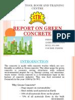 green cement