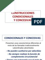 construcciones, condicionales y concesivas
