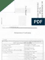 User manual of the TENMA 72-7245.pdf