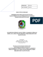 summary ANALISIS DAN PERANCANGAN WEB E-COMMERCE SEBAGAI MEDIA JUAL BELI ONLINE PRODUK UMKM DIKABUPATEN  BANYUWANGI.pdf