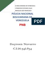 TRABAJO  DE POLICIA  BOLIVARIANA VZLA