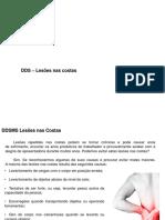 DDS Lesões nas costas - ergonomia.pptx