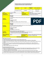 Form 3 Cefr Lesson Plan